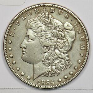 1884 Morgan Dollar Silver 104226 *SFCOIN