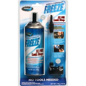 A/C EZ Fill Leak Stop with leak Detector Seals leaks hoses O-rings and gaskets