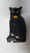 Katze Magnet Kühlschrank Holz Handarbeit Cat Zettelhalter Bali RB