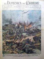 La Domenica del Corriere 11 Giugno 1944 WW2 Fuhrer Roma Padilla Valenti Ginepro