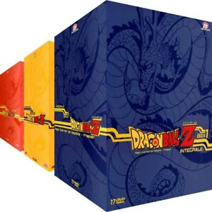 Dragon Ball Z Intégrale Collector Remasterisé 3 Coffrets 43 DVD Saga Animé Culte