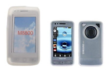 Cover Case Silicone (WHITE) ~ Samsung M8800 Player Pixon