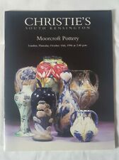 CHRISTIES CATALOGUE MOORCROFT POTTERY OCT96