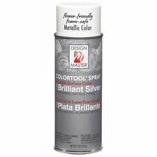 Design Master Colortool Metals Spray Paint 734 Brilliant Silver 11 OZ (312 g)