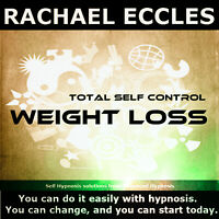 Total Self Control Weight Loss Hypnosis CD, Lose Weight Hypnotherapy
