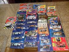 31 CAR LOT NASCAR ACTION HOT WHEELS MATCHBOX GORDON KYLE PETTY BLUES BROTHERS +