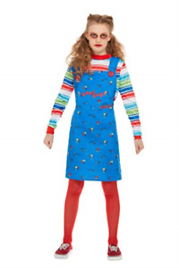 Chucky Costume, Blue, with Dress & Top -  (Size: Tween 12 (UK IMPORT) COST-W NEW