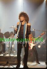 Jon Bon Jovi VINTAGE 35mm SLIDE TRANSPARENCY 6432 PHOTO