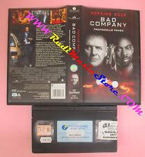 VHS film BAD COMPANY PROTOCOLLO PRAGA 2003 Hopkins Rock TOUCHSTONE (F148) no dvd