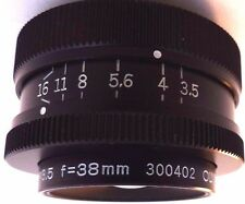 Olympus Zuiko  OM 38mm  F3.5  Macro Bellows Lens.