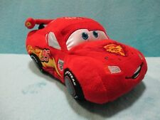*RARE* Disney Store Exclusive CARS 2 - Lightning McQueen Piston Cup Soft Toy 8""