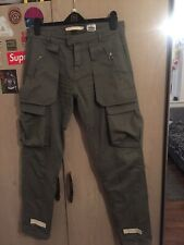 OFF WHITE CARGO PANTS SS15