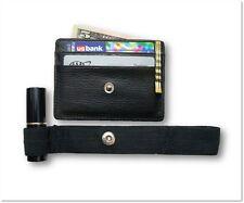 Hidden Wallet - RFID Blocking, Travel Wallet, Secure Money Holder Strap - Black