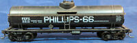 PHILLIPS - 66. PSPX 9213 BLACK TANK CAR. Vintage. HO Scale. H0