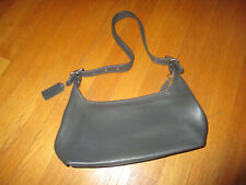 Vintage Authentic Coach Gray Leather Legacy Small Hobo Handbag Purse #9059