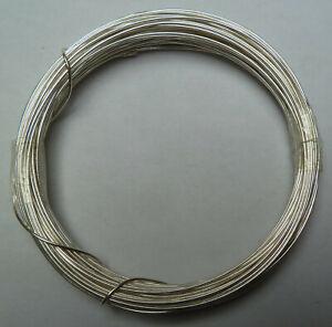 Silberdraht mit Kupferkern, versilberter Kupferdraht - Ø 0,60mm bis 1,50mm