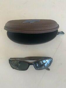 RARE Maui Jim Mj220-02 Atoll Polarized Rectangular Sunglasses **PERFECT**