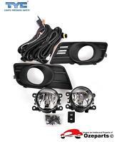 Full Set Fog Light Spot Driving Lamp KIT For Suzuki Swift Standard 07~10 EZC21