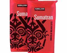 kirkland Signature Sumatran Whole Bean Coffee 3 Lb, 2 Pack
