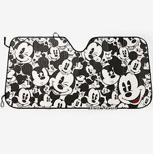 "Disney Mickey Mouse Collage ACCORDION SUNSHADE Auto Car Truck Van 58""x 27 1/2"""