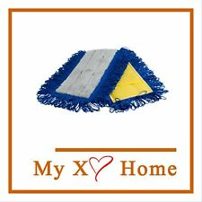 """24"""" Yellow Microfiber Dry Pocket Dust Mop with Canvas Back by MyXOHome"""