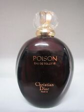 CHRISTIAN DIOR VINTAGE POISON  3.4 oz/100 ml EAU DE TOILETTE SPRAY ORIGINAL