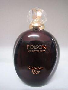 CHRISTIAN DIOR VINTAGE POISON  3.4 oz/100 ml EAU DE TOILETTE SPRAY ORIGINAL