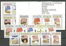 200 Jahre USA, Flaggen - Honduras -  ** MNH 1976