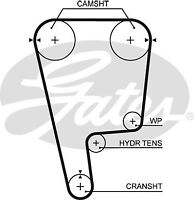 Gates Timing Cam Belt T226  - BRAND NEW - GENUINE - 5 YEAR WARRANTY
