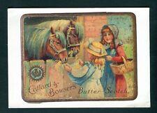 Callard & Bowser. Butter Scotch. Advertising. Gloucester. Uncirculated