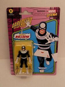 """Bullseye (Daredevil) Marvel Legends Retro 3.75"""" Figure Hasbro Kenner New!"""