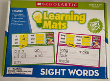 Scholastic Learning Mats Sight Words