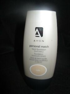 Avon Personal Match Liquid Foundation - Natural - Nude - 30ml
