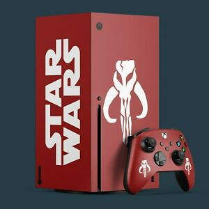Xbox Series X Vinyl Skin & 2x Controller Vinyl Skins, Star Wars Themed.