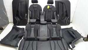AUDI S3 8V 12-16 FULL INTERIOR SET BLACK LEATHER 3 DOOR