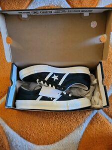 Converse One Star Academy Ox Suede Black White Skating Sneakers Size 11