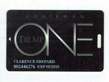 TRUMP ONE Slot / Players Card Casino Atlantic City, NJ - President Donald -Black