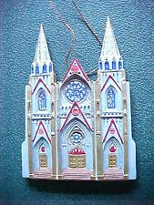 CATHEDRALS OF THE WORLD CHRISTMAS ORNAMENT ST. PATRICK'S CATHEDRAL