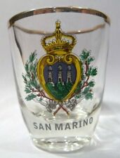 SAN MARINO SHOT GLASS SHOTGLASS