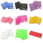 9-Color Silicone Keyboard Cover Skin for Apple Macbook Pro MAC 13 15 17 Air 13