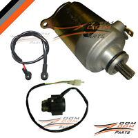 Starter Motor and Relay for GY6 150 150cc 157QMI 157QMJ Scooter Moped ATV GoKart