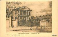 1920s Charleston South Carolina Miles Brewton House Albertype postcard 7647