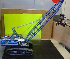 """Lego Technik Seilbagger 42042 mit Greifer + Funktionmodul gebaut """"Gebraucht(001)"""