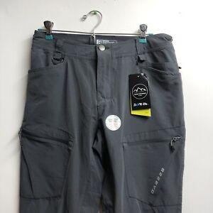 Dare2b Ebony Gray Tuned In Trousers 36x32 Regular - Adjustable Waist - New