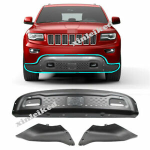 For JEEP Grand Cherokee 2014-2019 Metal Front Bumper Conversion Kit 3PCS