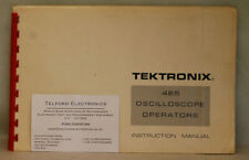Tektronix 465 Oscilloscope Operators Manual