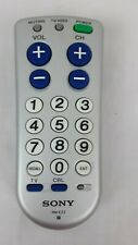 Sony BIG BUTTON Universal Programmable Remote RM-EZ2 Multi Brand TV Cable