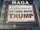 President Donald Trump Signed Framed Campaign signed JSA LOA Huge Signature