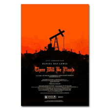 74824 There Will Be Blood Horror Movie Wall Print POSTER Affiche