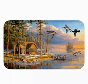 "31.5"" x 20"" Memory Foam Mat Bath Kitchen Outdoors Cabin Duck FREE SHIPPING!"